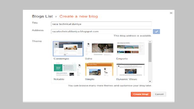 Google-पर-फ्री-में-Blog-कैसे-बनाएं-How-To-Make-a-Free-Blog-On-Google
