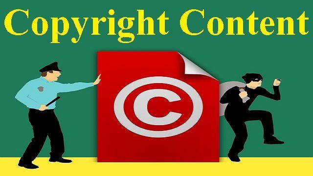 Copyright Content किसे कहते हैं ?