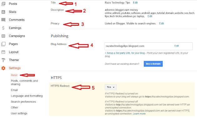 Blog की Basic SEO Setting कैसे करें ? Blogger SEO Setting Step By Step Guide 2020