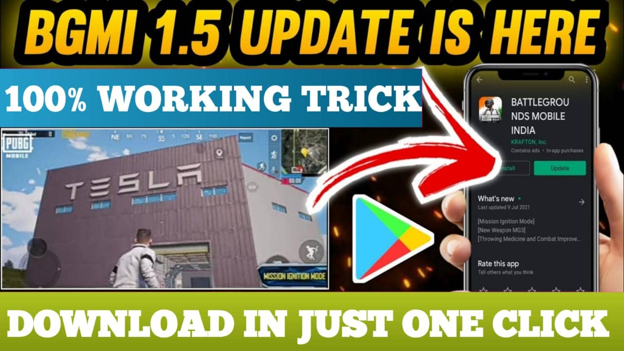 Bgmi update कैसे करें  How To Update Bgmi 1.5  Bgmi 1.5 updat