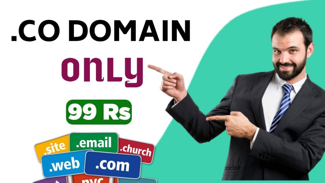 .CO Domain Only 99 Rs Me Kahan Se Buy Kare 2021