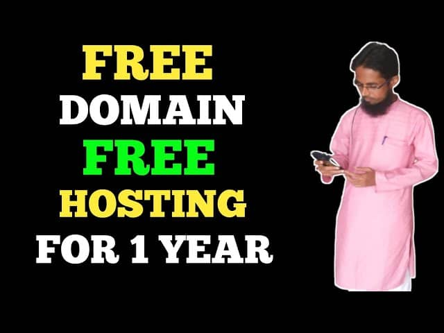 Free Hosting And Domain For 1 Year🔥🔥Free Domain And Hosting 2021