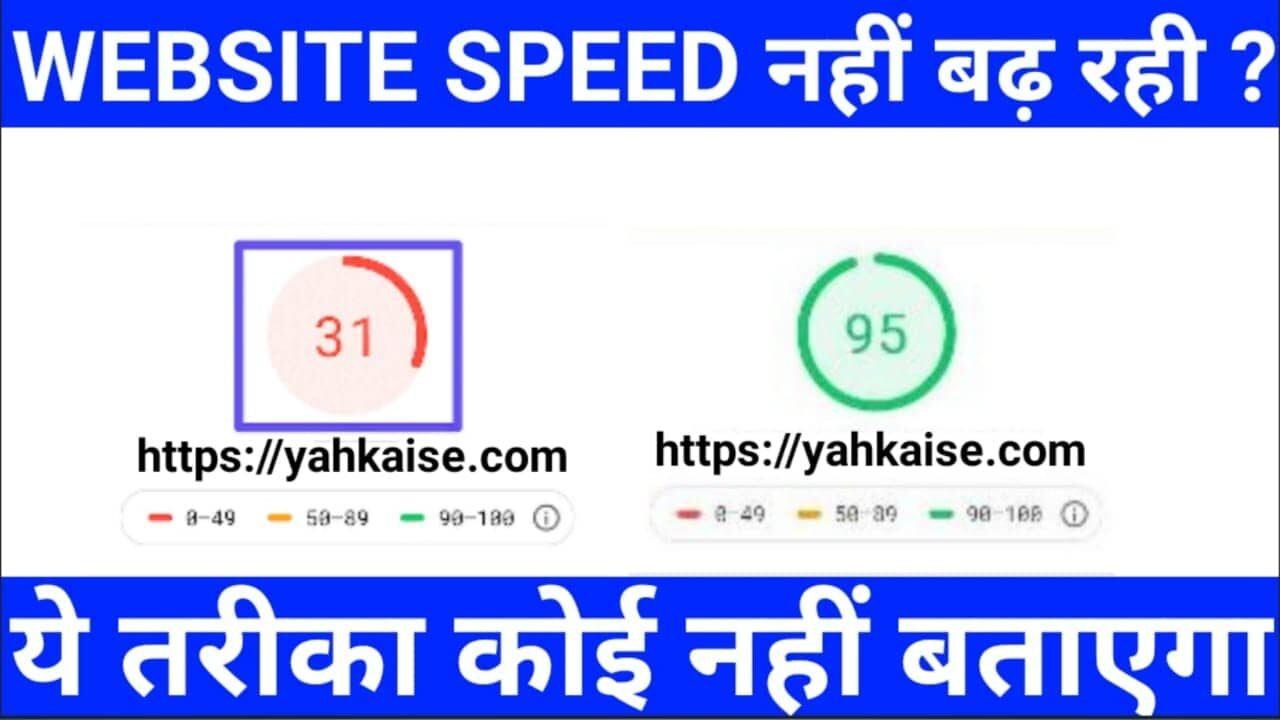 Wordpress Website की Speed कैसे बढाएं🔥Secret Tips To Increase Speed
