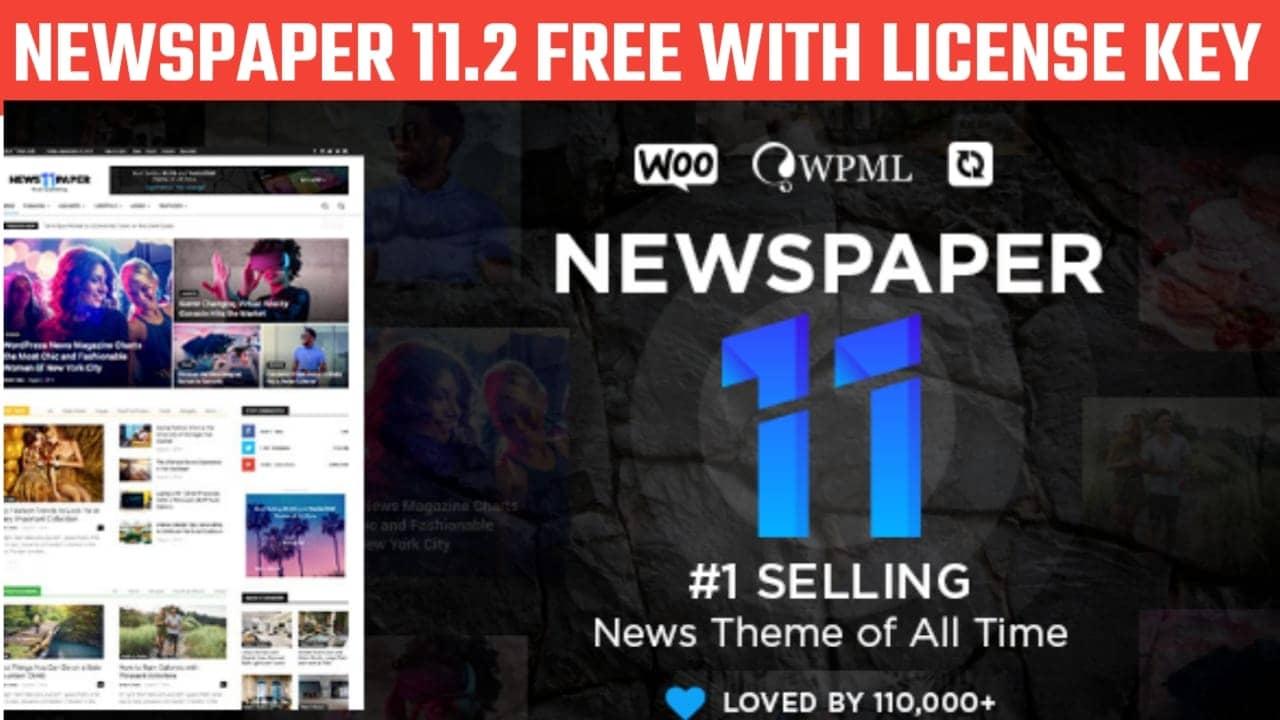 Newspaper 11.2 Premium WordPress Theme Free With Activation Key